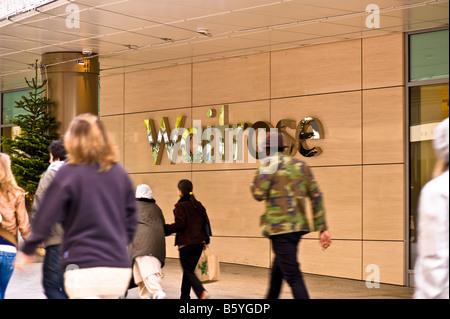 Westfield Shopping Centre White City Development London United Kingdom - Stock Photo