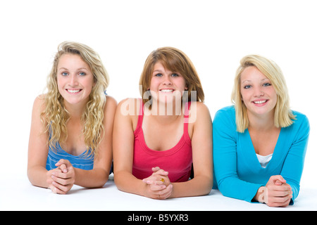 Portrait Of Teenage Girls - Stock Photo