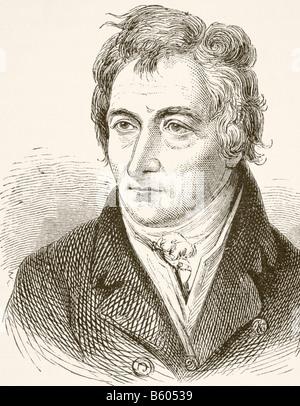 Henry Grattan, 1746 - 1820.  Anglo Irish member of the Irish House of Commons - Stock Photo