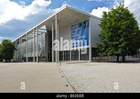 Pinakothek der Moderne, Munich, Bavaria - Stock Photo