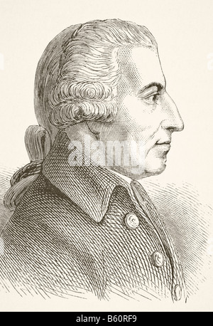 John Howard, 1726 - 1790. Philanthropist and first English prison reformer. - Stock Photo