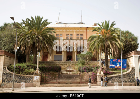 Theatre on the Harnet Avenue, built 1919/20 by the Italien, Asmara, Eritrea, Horn of Africa, East Africa - Stock Photo