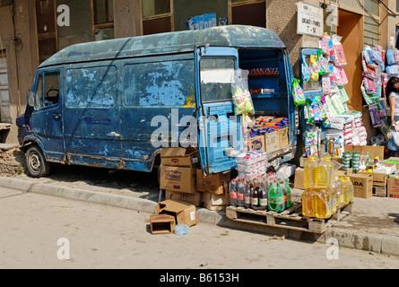 Market in Tirana, Albania, Europe - Stock Photo