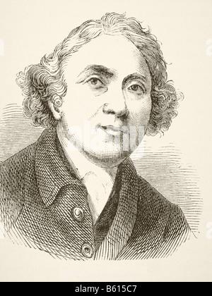 John Hunter, 1728 - 1793. Scottish surgeon.  Founder of pathological anatomy in England - Stock Photo
