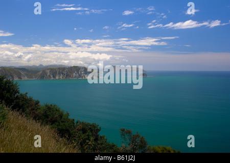 Coast, Nr Tolaga Bay, New Zealand - John Gollop - Stock Photo