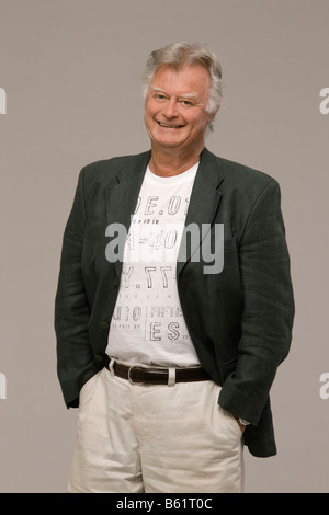 Man, 70, looking in the camera - Stock Photo