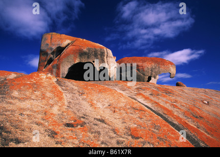 Remarkable Rocks, Kangaroo Island, South Australia - Stock Photo