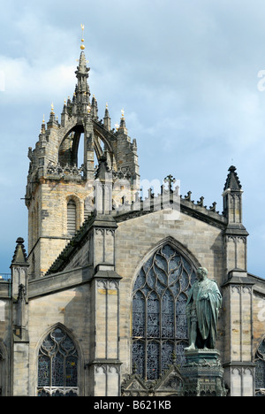 St. Giles Cathedral, Edinburgh, Scotland, Great Britain, Europe - Stock Photo