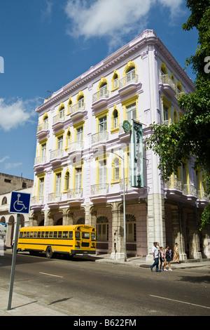 Hotel Sevilla, Havana, Cuba, Caribbean - Stock Photo