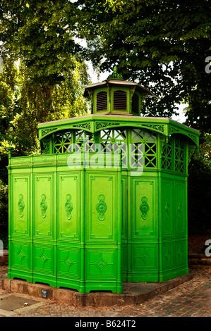 Old public toilet called 'Café Seckseck', still in use, Berlin-Kreuzberg, Berlin, Germany, Europe - Stock Photo
