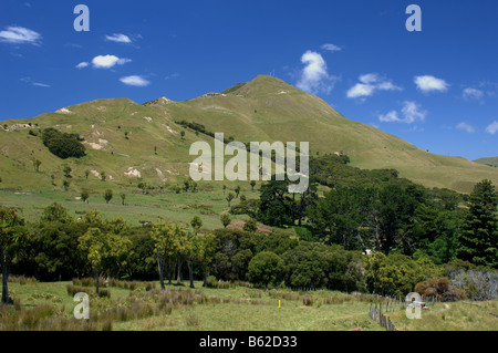 Hills, Tolaga Bay, New Zealand - John Gollop - Stock Photo