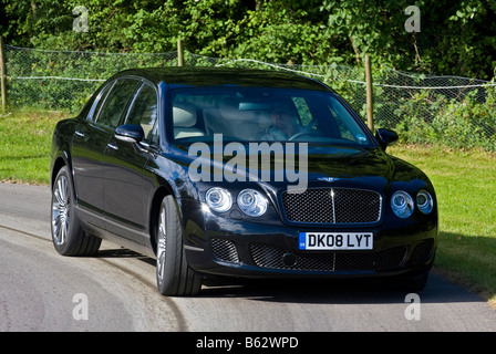 2008 Bentley Flying Spur Speed supercar at Goodwood Festival of Speed, Sussex, UK. - Stock Photo