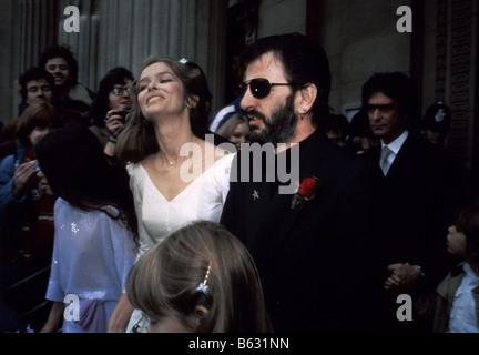 Ringo Starr and Barbara Bach The wedding of Sir Paul ...