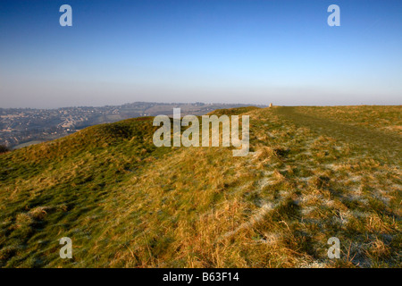 Little Solsbury Hill, North-East Somerset, England, UK - Stock Photo