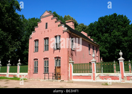 The Dutch House at the 18th century Kuskovo Estate in Moscow, Russia - Stock Photo