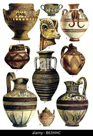Ancient Vases Stock Photo 117340777 Alamy