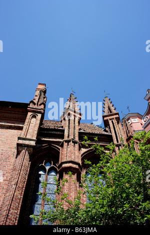 St. Anne's Church, Vilnius, Lithuania - Stock Photo