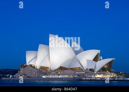 Sydney Opera House SOH on Bennelong Point Sydney Australia - Stock Photo