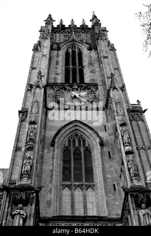 Beverley Minster in Beverley East Yorkshire.  Church of England. - Stock Photo