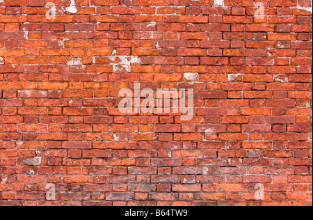 old weathered brick wall background (textured) - Stock Photo