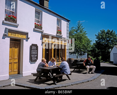 1380 Bunratty Castle Folk Park Co Clare Republic of Ireland - Stock Photo