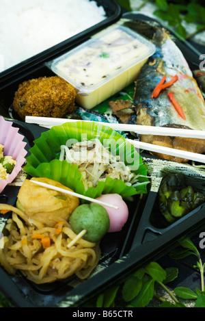 Japanese bento box - Stock Photo