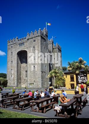 1378 Bunratty Castle Co Clare Republic of Ireland - Stock Photo