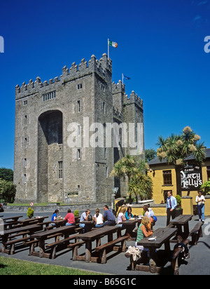 1376 Bunratty Castle Co Clare Republic of Ireland - Stock Photo