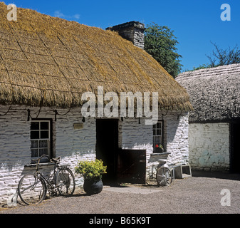 1381 Bunratty Castle Folk Park Co Clare Republic of Ireland - Stock Photo