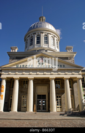 Bonsecours Market or Marche Bonsecour in Old Montreal, Quebec, Canada - Stock Photo