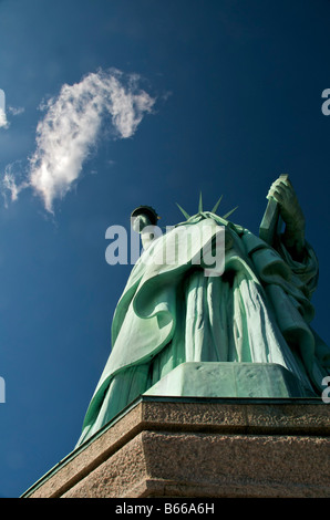 Statue of Liberty National Monument New York November 2008 - Stock Photo