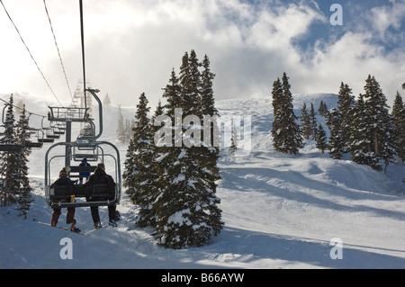 Chair Lift At Arapahoe Basin Ski Resort Rocky Mountains Colorado Usa Stock Photo Royalty Free