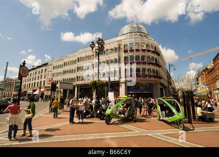St. Stephens Green Shopping Center Dublin - Stock Photo