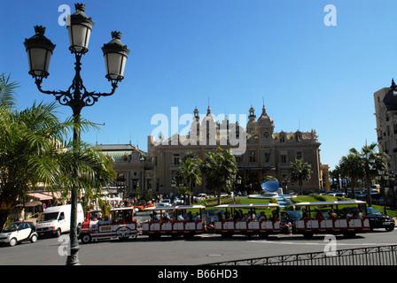 Casino of Monte Carlo Monaco - Stock Photo
