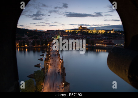 Charles bridge prague - Stock Photo