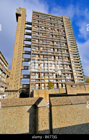 Trellick Tower, 5 Golborne Road, Kensington and Chelsea, London W10 5PL, United Kingdom - Stock Photo