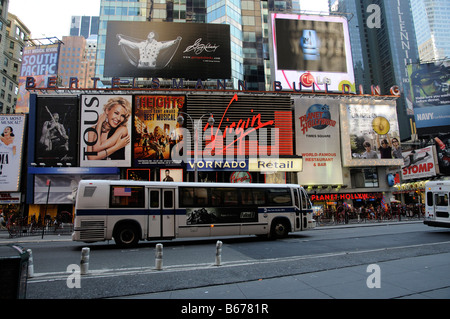 Broadway New York City America USA - Stock Photo