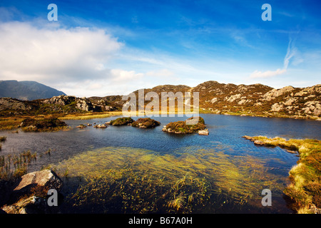 Innominate Tarn On Haystacks Summit High Above Buttermere, 'The Lake District' Cumbria England UK - Stock Photo