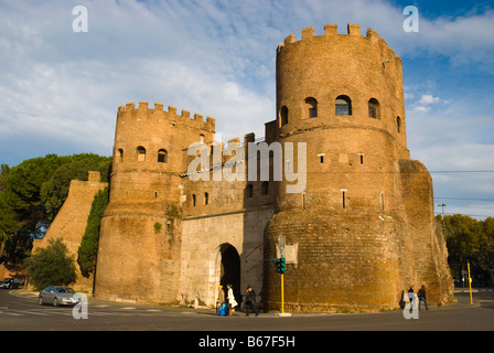 Castle of Ostia in Rome Italy Europe - Stock Photo