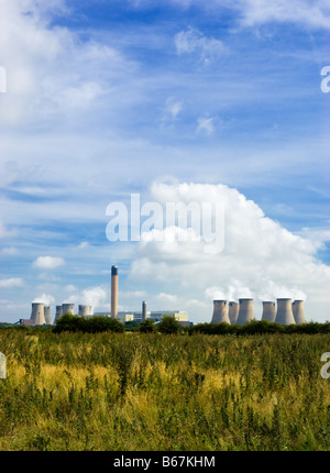 Drax power station near Selby, North Yorkshire, England UK - Stock Photo