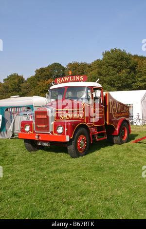 Classic British Trucks - Stock Photo