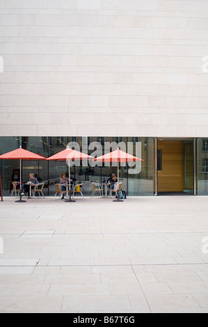 National Museum of History and Art, Cafe, Luxembourg - Stock Photo