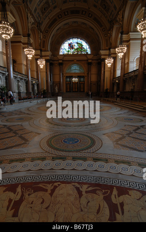 Interior Of St Georges Hall Liverpool Uk Grade 1 Listed