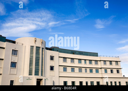 Front of Renovated Midland Hotel - Stock Photo