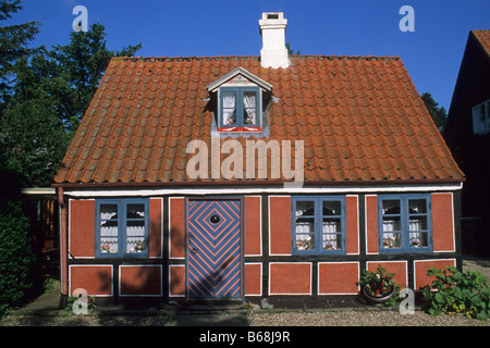 Elk167 3027 Denmark Aero Island Aeroskobing historic home - Stock Photo