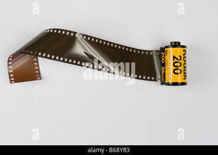 Kodak film, camera film. - Stock Photo