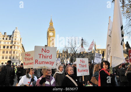 National Climate March, Westminster, London 2008 - Stock Photo