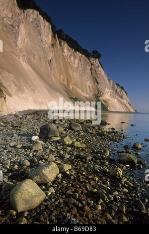 Elk167 2471v Denmark Mon Island Mons Klint chalk cliffs - Stock Photo