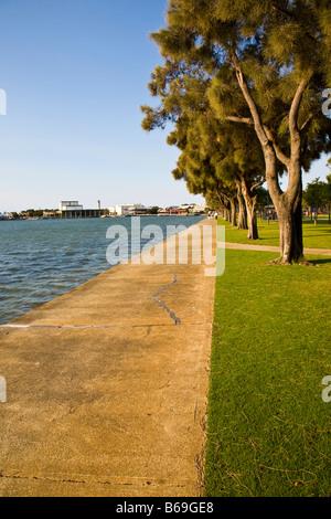 On the waterfront at Mandurah Western Australaia - Stock Photo