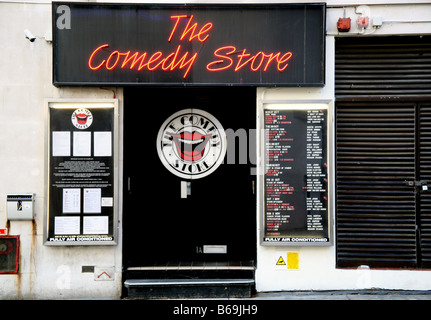 Comedy Store in London's West End - Stock Photo